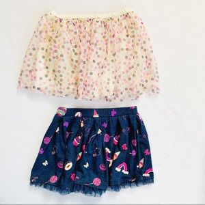 Two Toddler Skirts